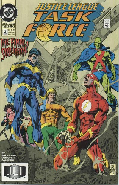 Justice League Task Force Vol 1 3