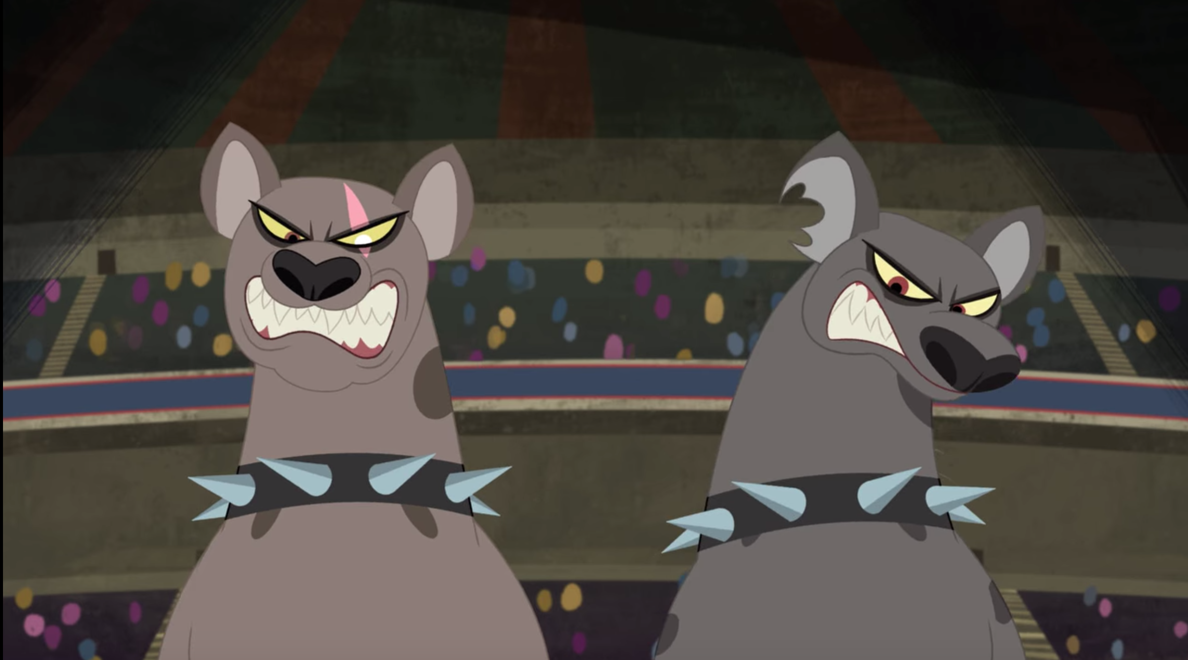 Lucy and Ethel the Hyenas (DC Super Hero Girls TV Series)
