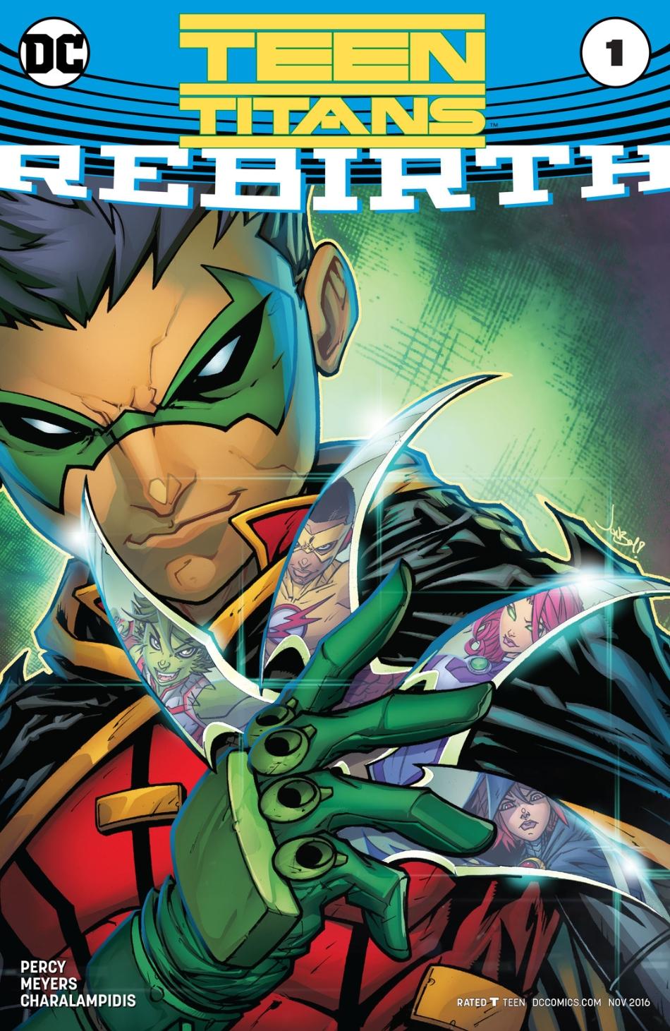 Teen Titans: Rebirth Vol 1 1