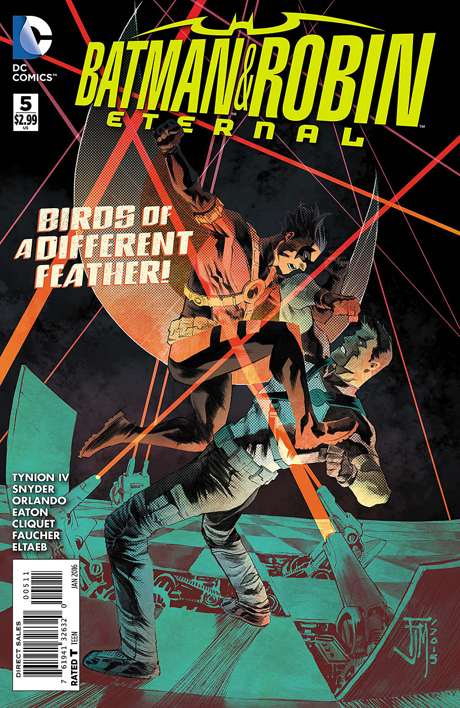 Batman & Robin Eternal Vol 1 5