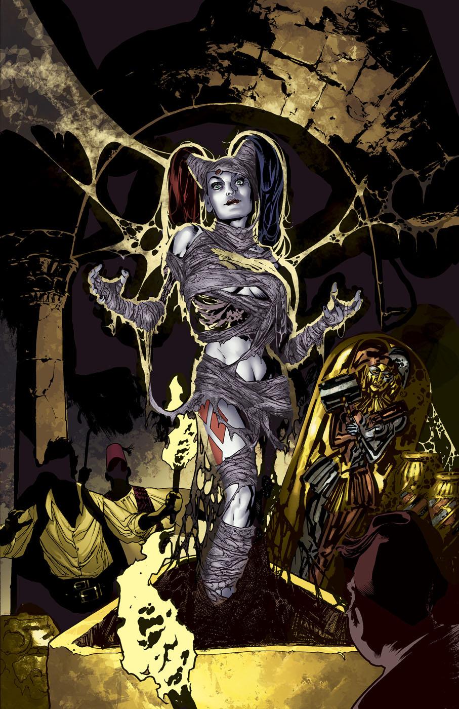 Harley Quinn Vol 2 21 Textless Monsters of the Month Variant.jpg