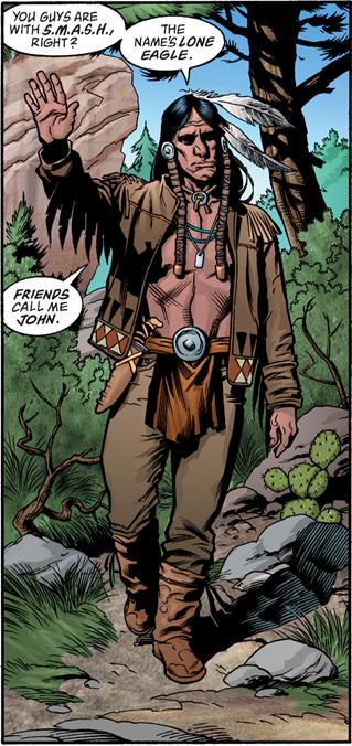 John Lone Eagle (Earth-ABC)