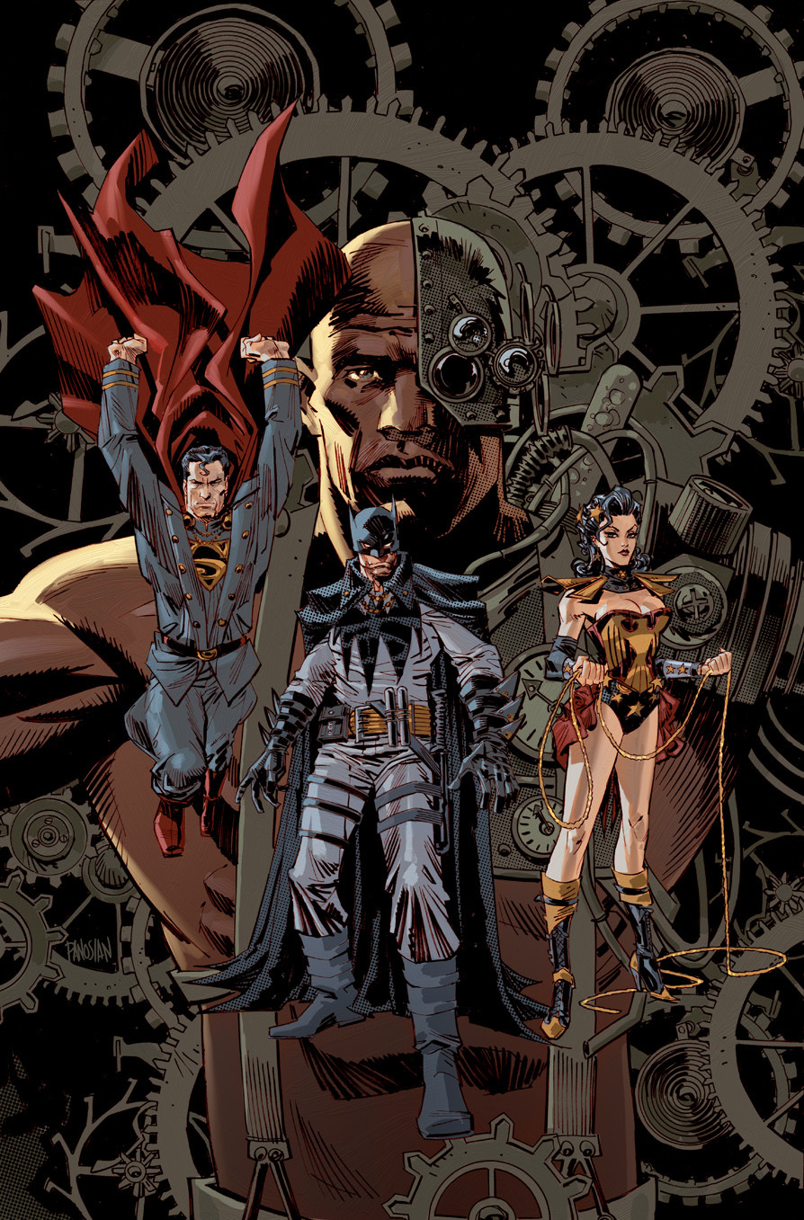 Justice League Vol 2 28 Textless Steampunk Variant.jpg