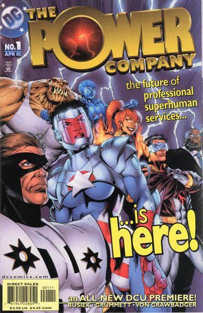 The Power Company Vol 1 1