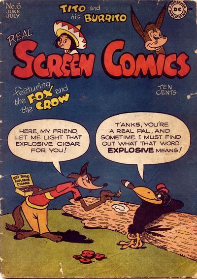 Real Screen Comics Vol 1 6