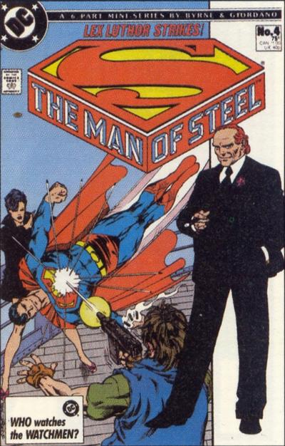 The Man of Steel Vol 1 4