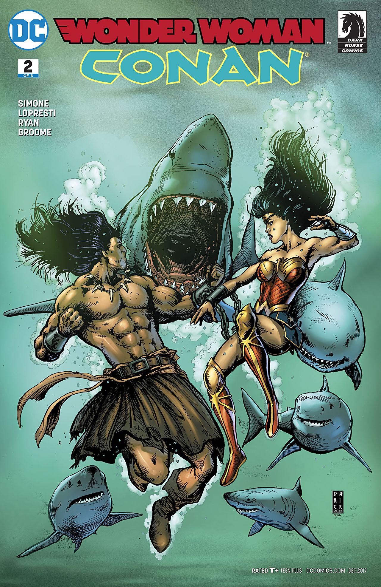 Wonder Woman/Conan Vol 1 2