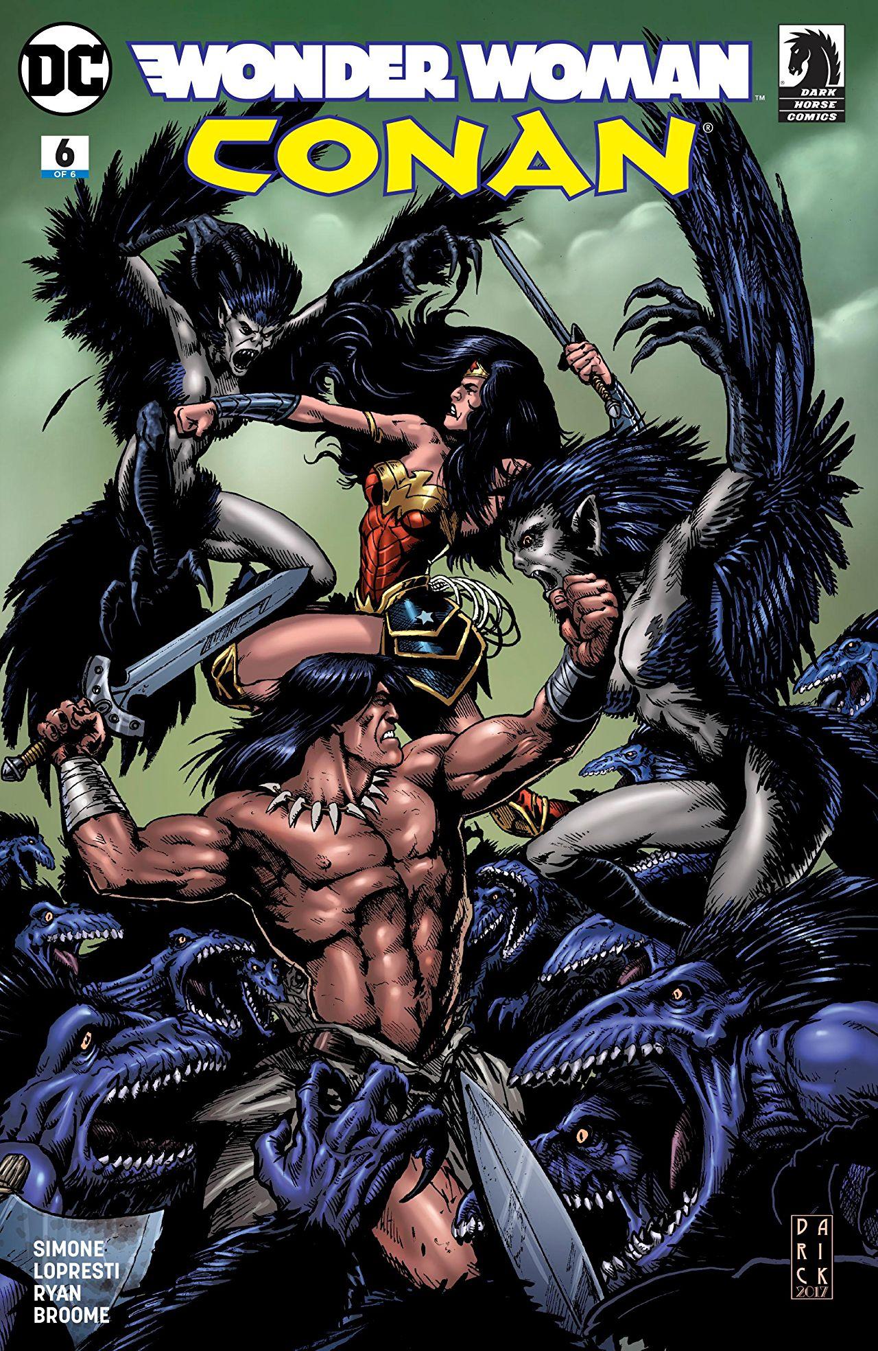 Wonder Woman/Conan Vol 1 6