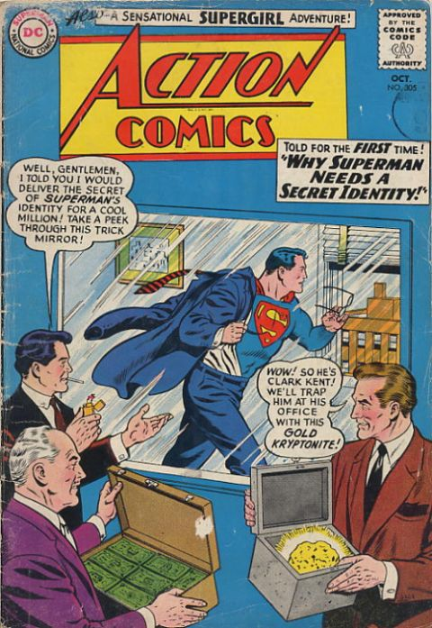 Action Comics Vol 1 305