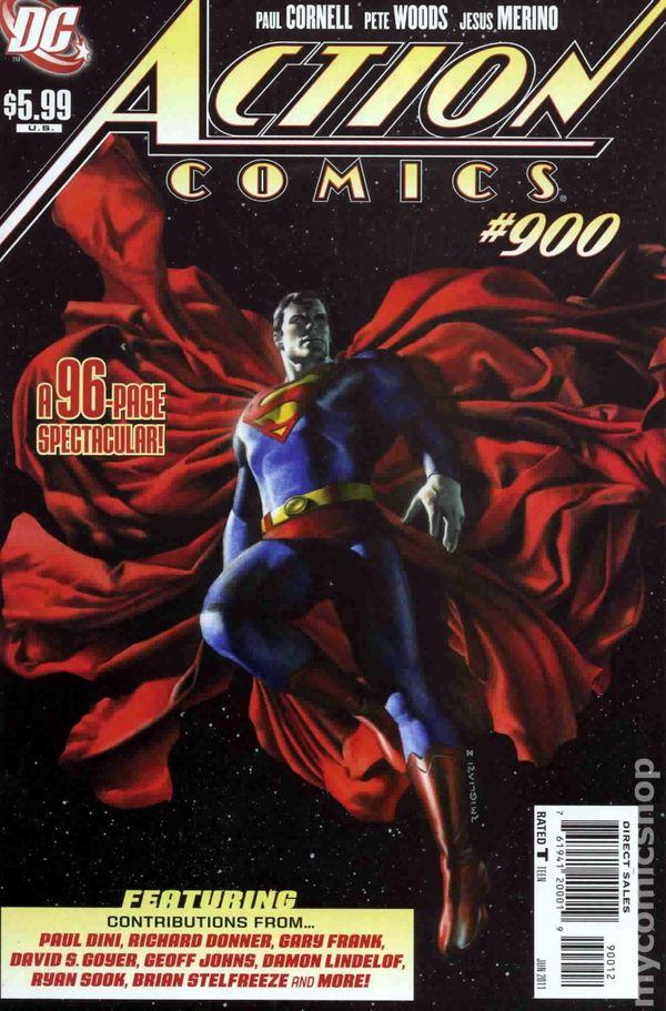 Action Comics Vol 1 900 Second Printing Variant.jpg