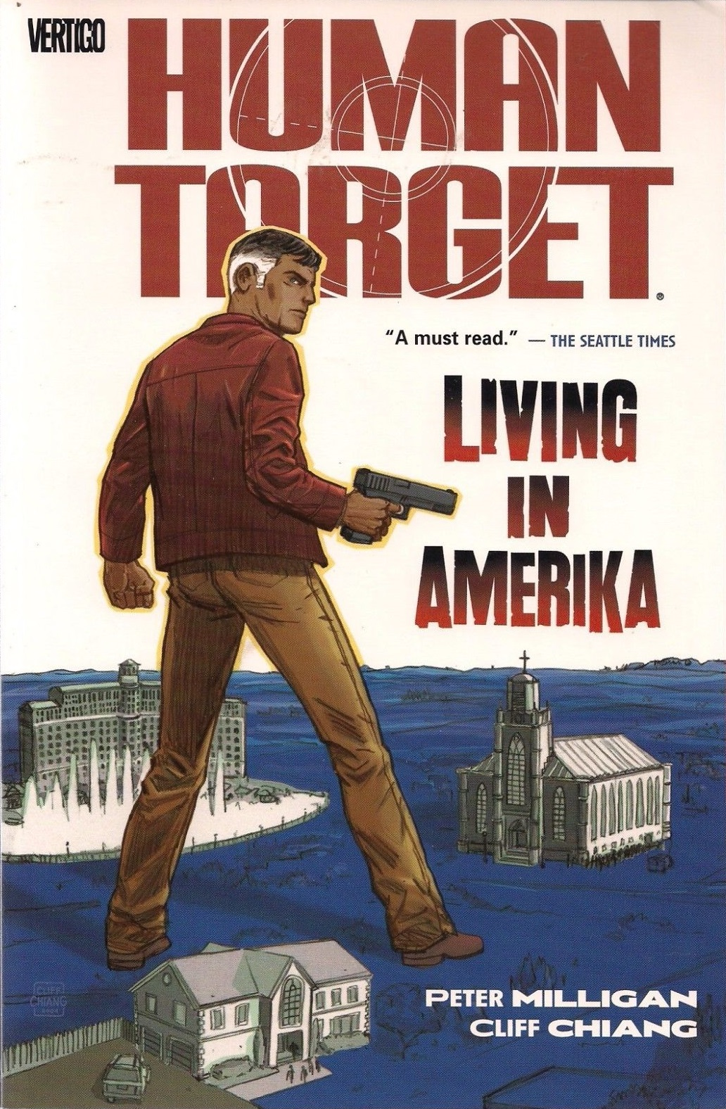 Human Target: Living in Amerika (Collected)