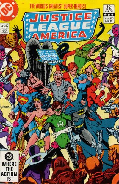 Justice League of America Vol 1 212