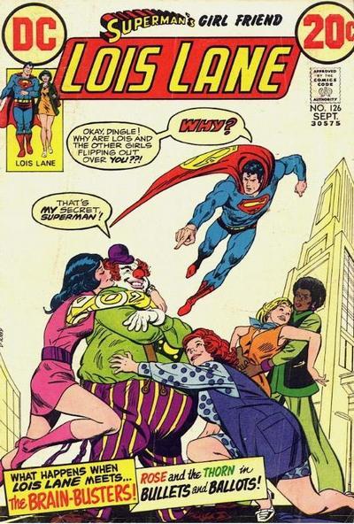 Superman's Girl Friend, Lois Lane Vol 1 126
