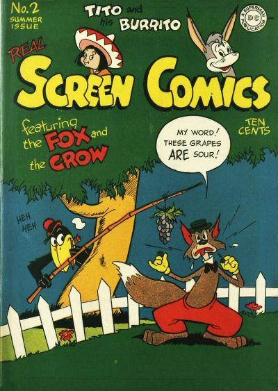 Real Screen Comics Vol 1 2