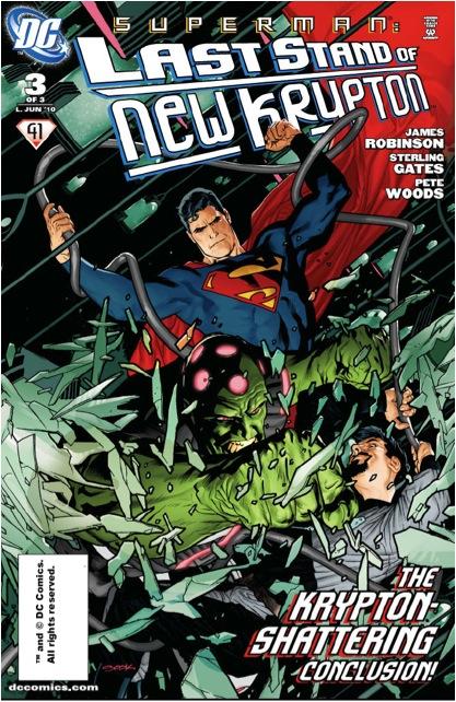 Superman: Last Stand of New Krypton Vol 1 3