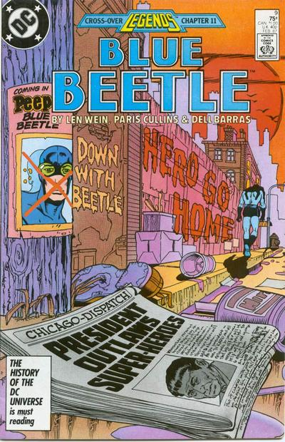 Blue Beetle Vol 6 9