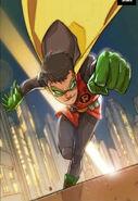 Damian Wayne Hero Run 001
