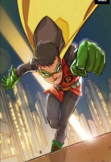 Damian Wayne (Hero Run)