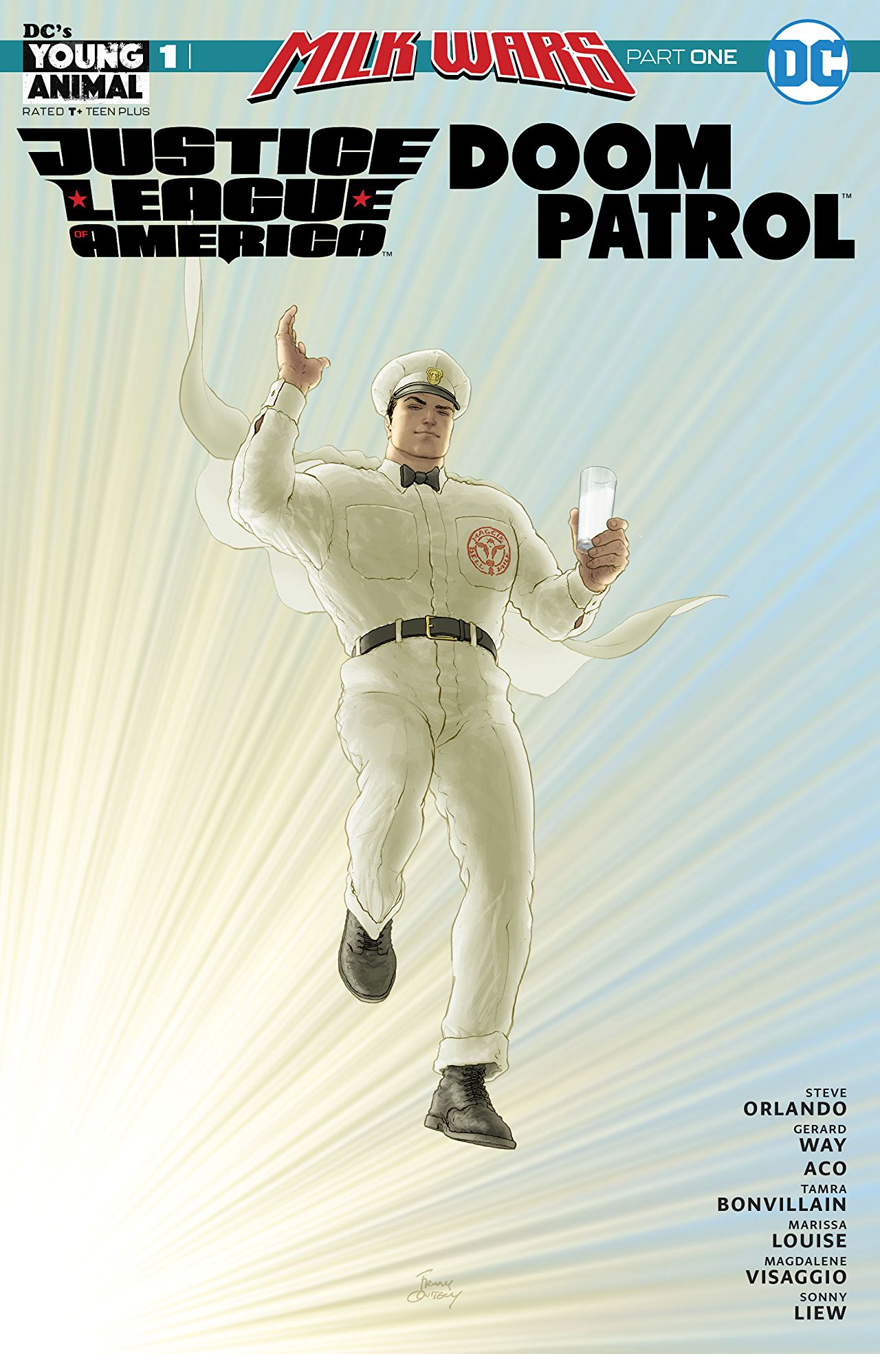 JLA/Doom Patrol Special Vol 1 1