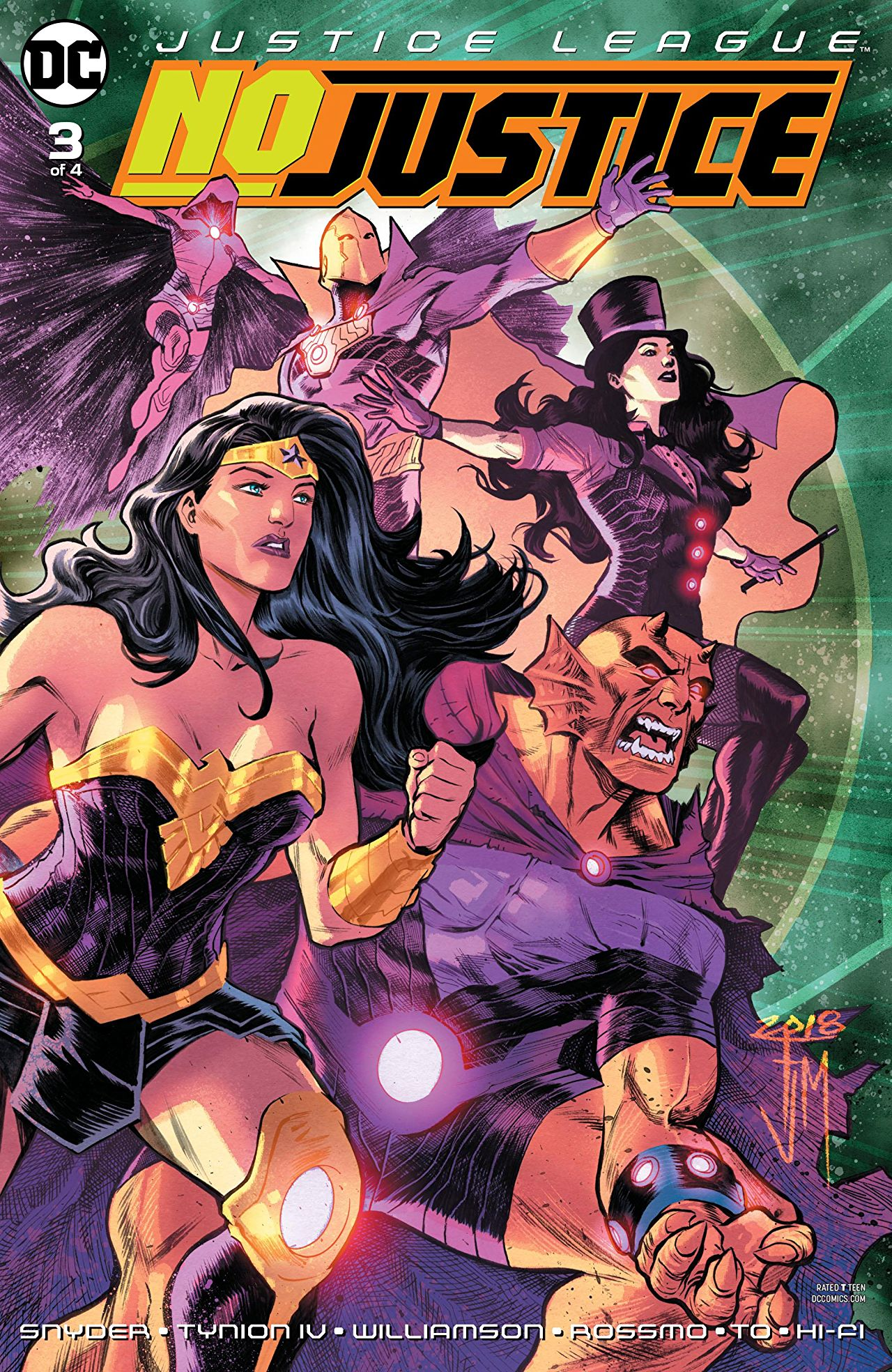 Justice League: No Justice Vol 1 3