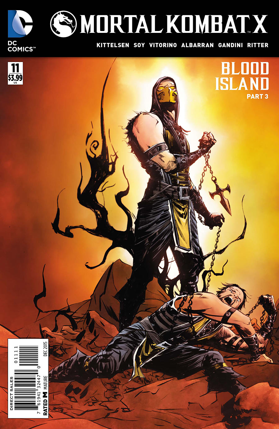 Mortal Kombat X Vol 1 11