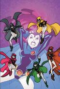 Raven Earth-Teen Titans 001