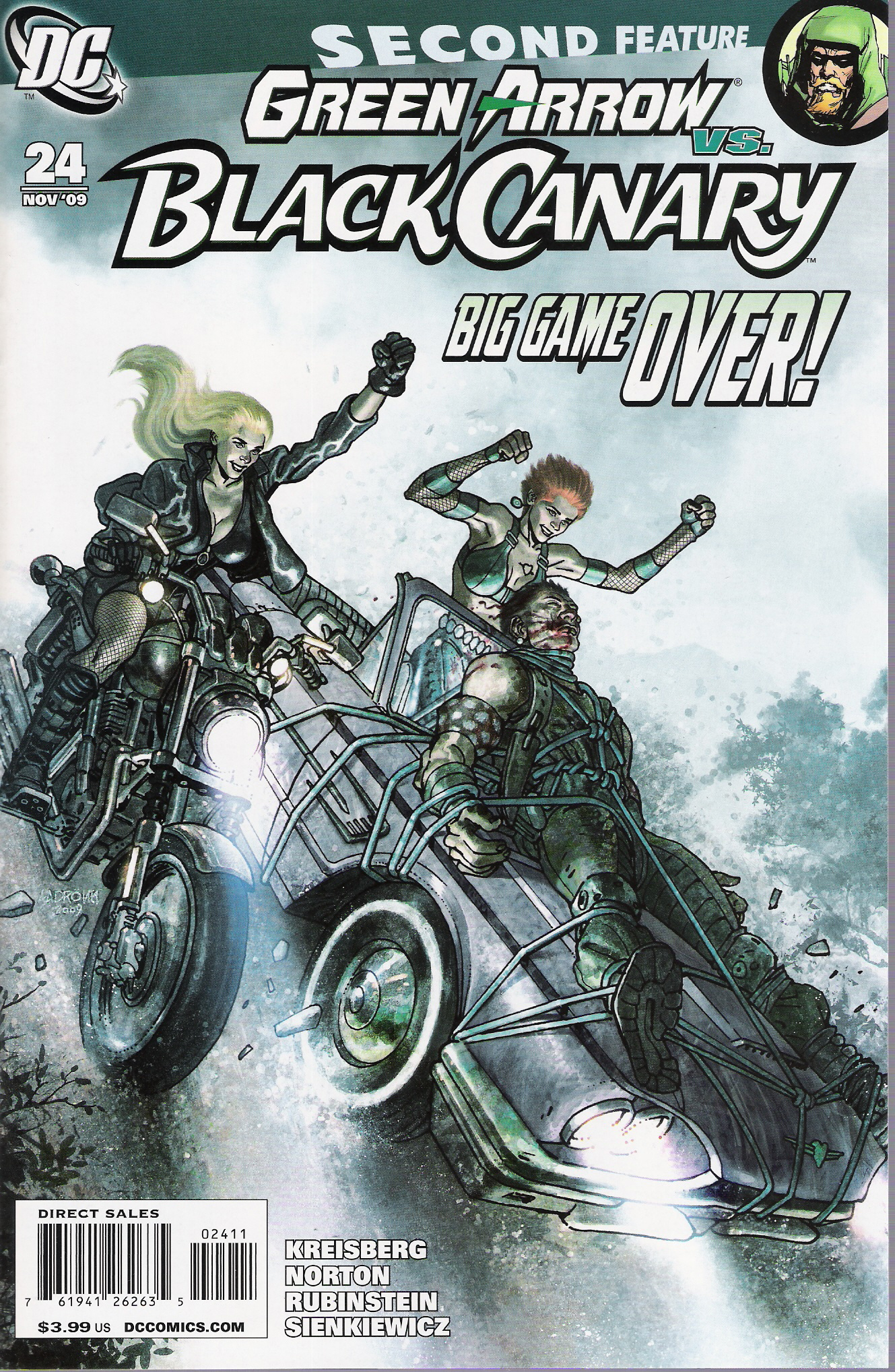 Green Arrow and Black Canary Vol 1 24