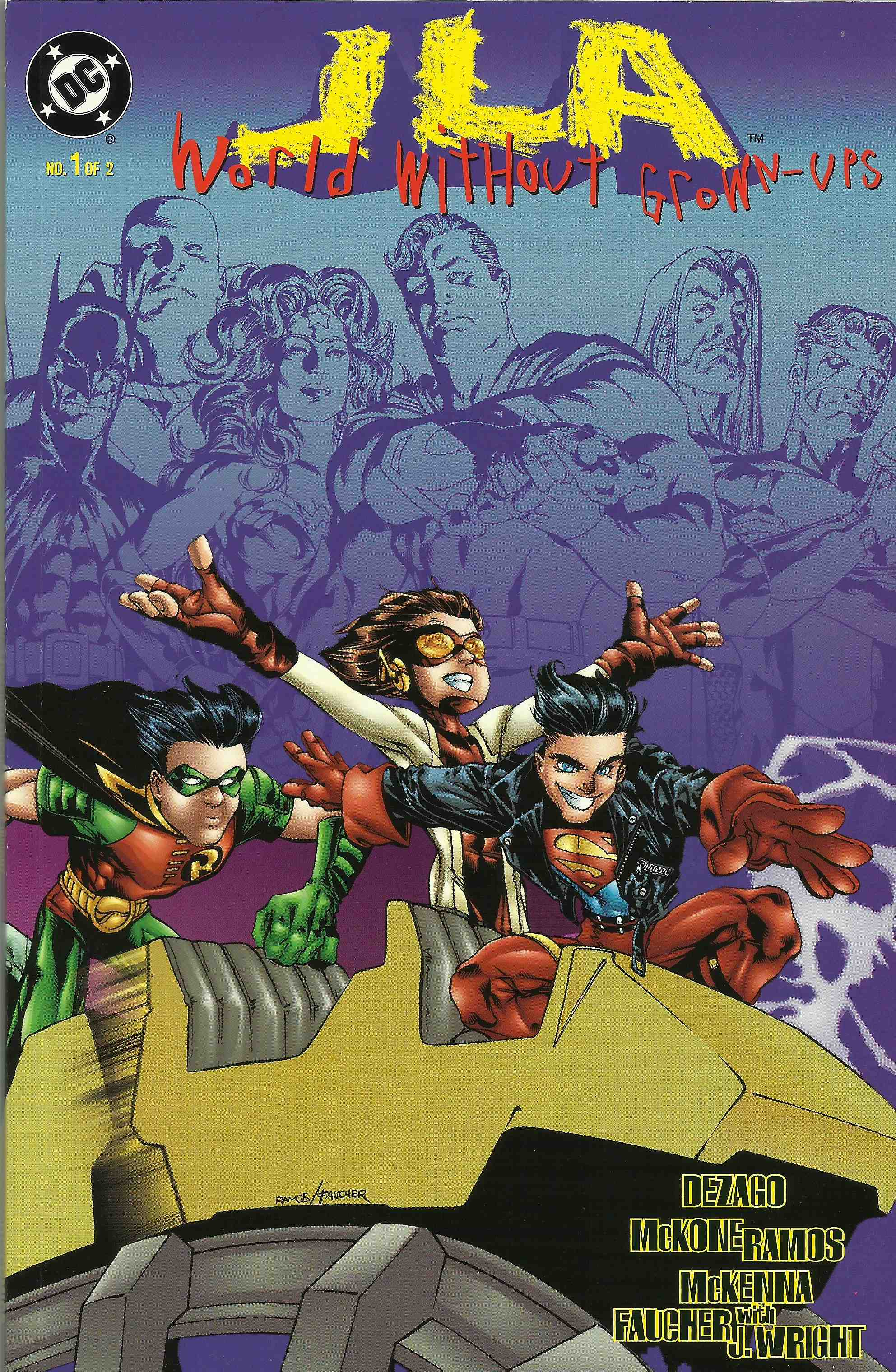 JLA: World Without Grown-Ups Vol 1