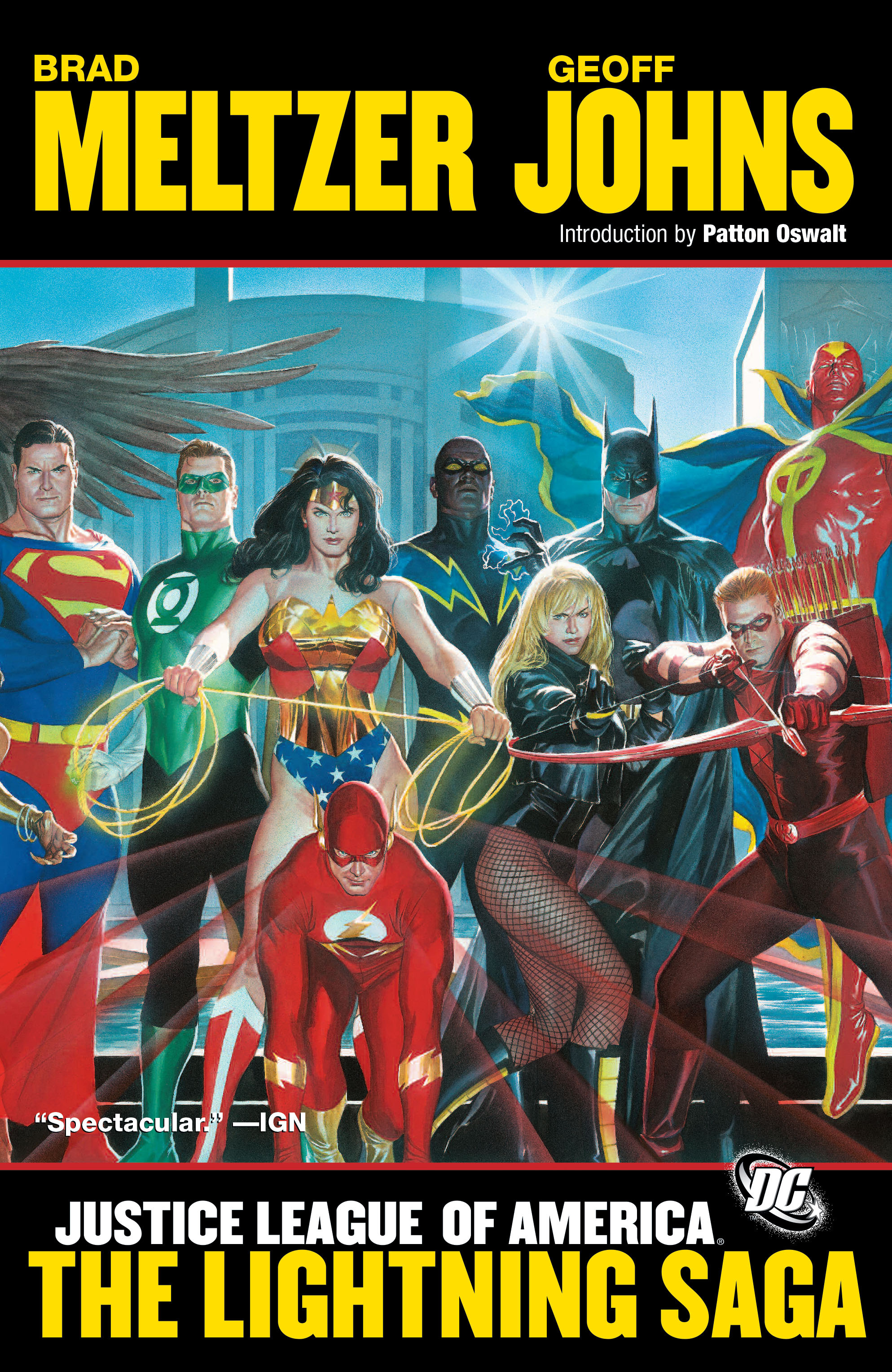Justice League of America: The Lightning Saga (Collected)