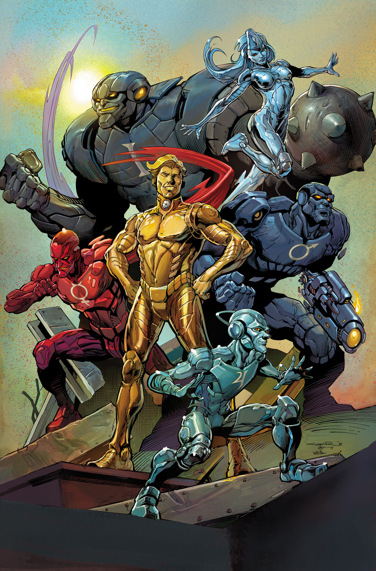 Metal Men: Full Metal Jacket (Collected)