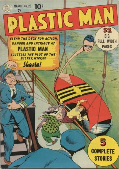 Plastic Man Vol 1 28