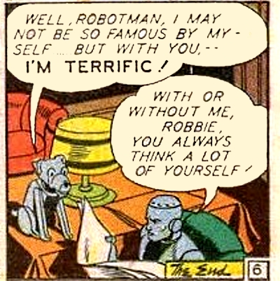 Robbie the Robot Dog (New Earth)