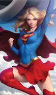 Supergirl Vol 7 12 Textless Variant