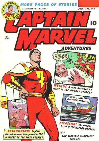 Captain Marvel Adventures Vol 1 146