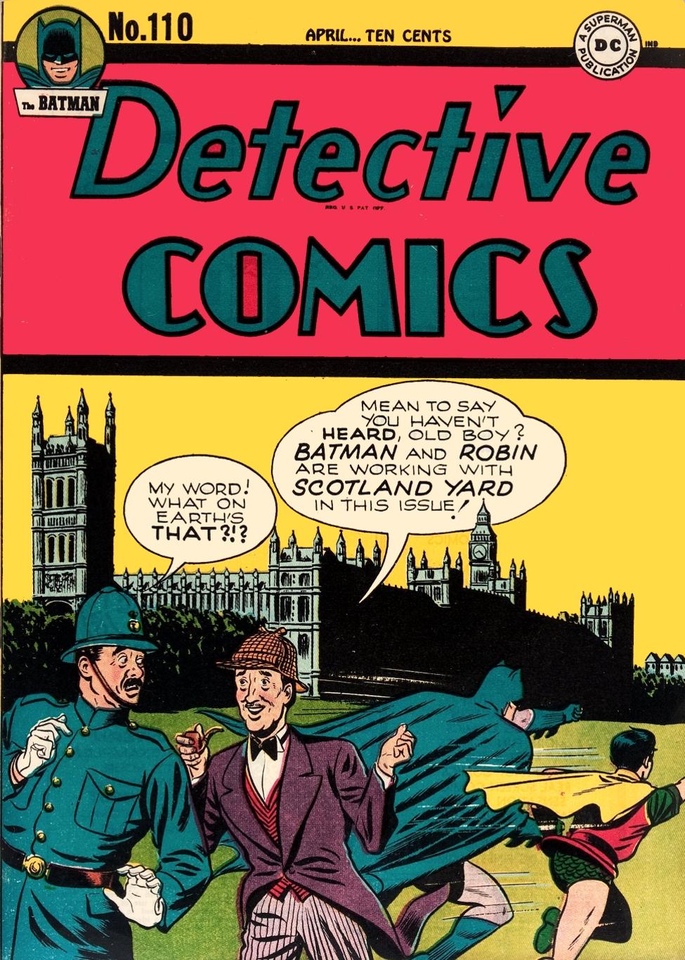Detective Comics Vol 1 110