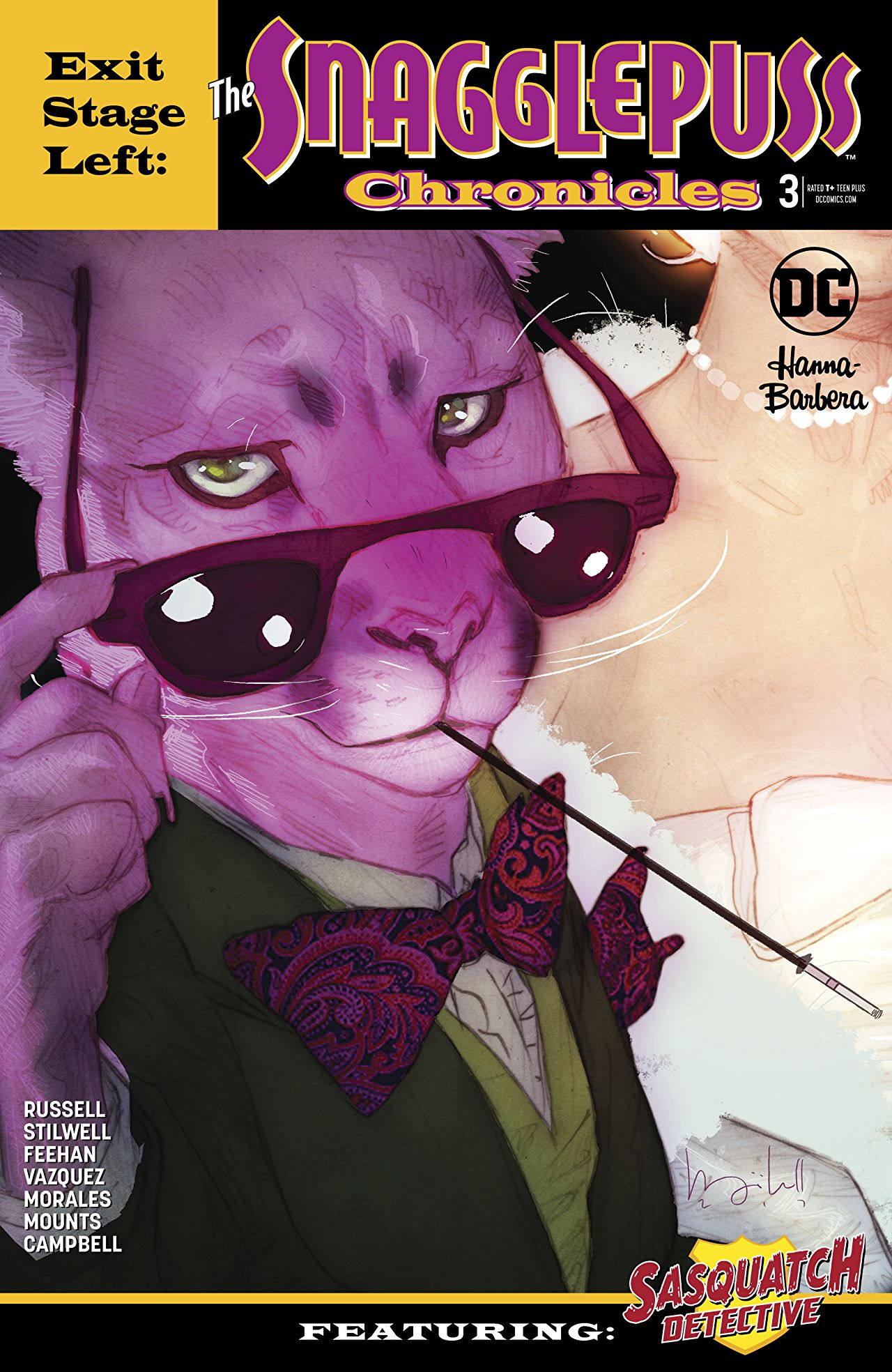 Exit Stage Left: The Snagglepuss Chronicles Vol 1 3