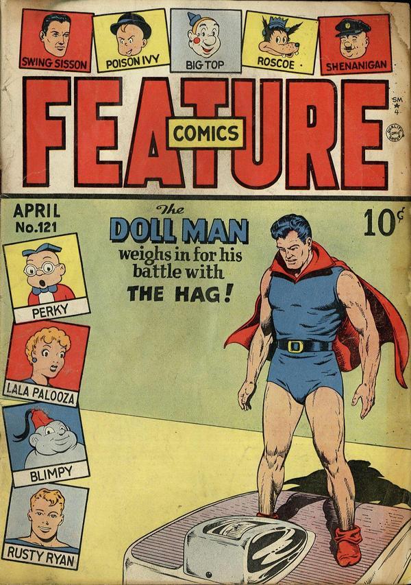 Feature Comics Vol 1 121