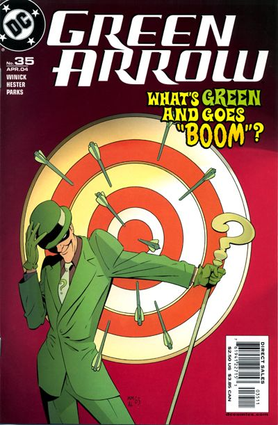 Green Arrow Vol 3 35