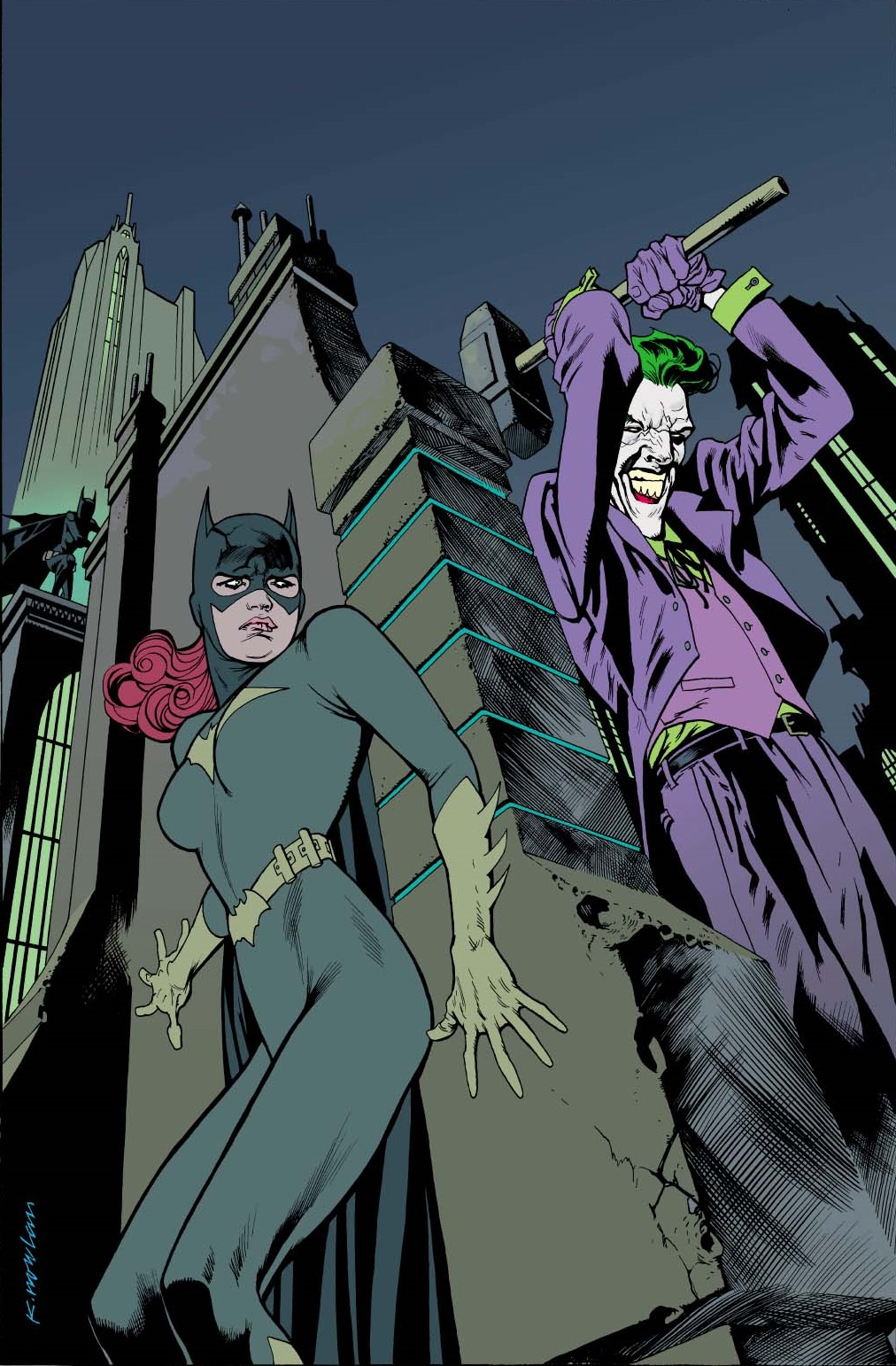 DC First: Batgirl/Joker Vol 1 1