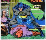 Batman confronts Bane