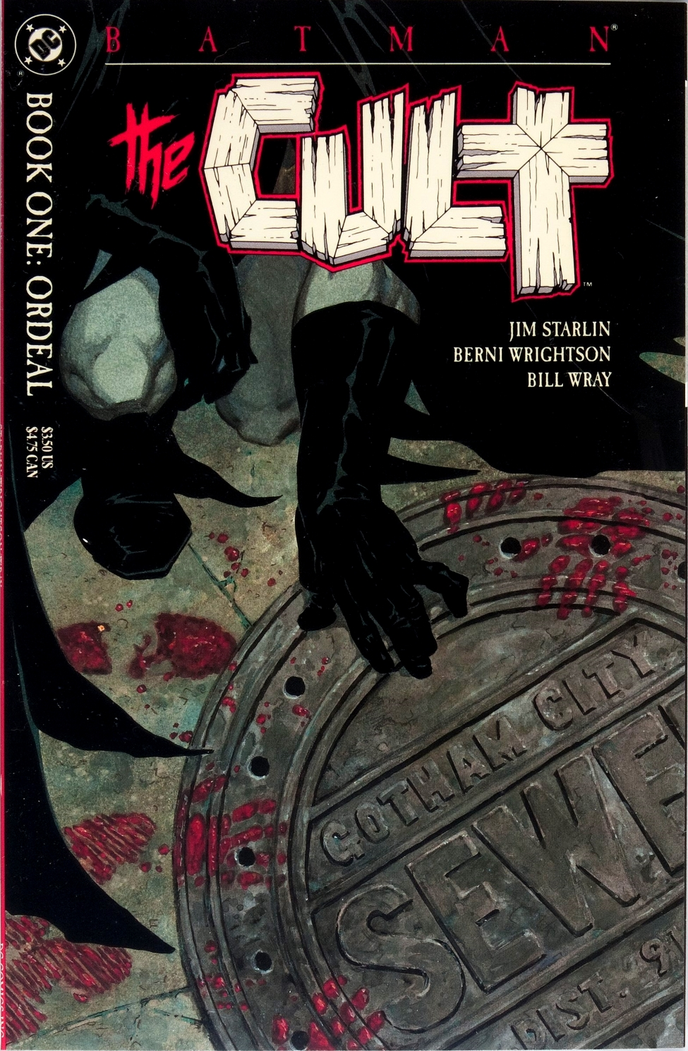 Batman: The Cult Vol 1 1