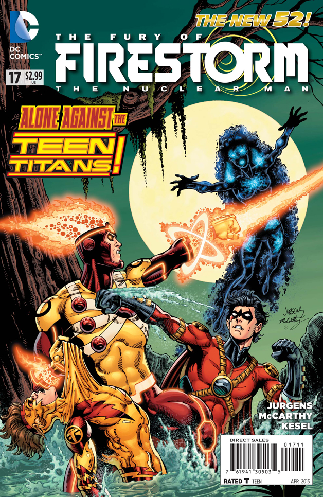 Fury of Firestorm: The Nuclear Men Vol 1 17