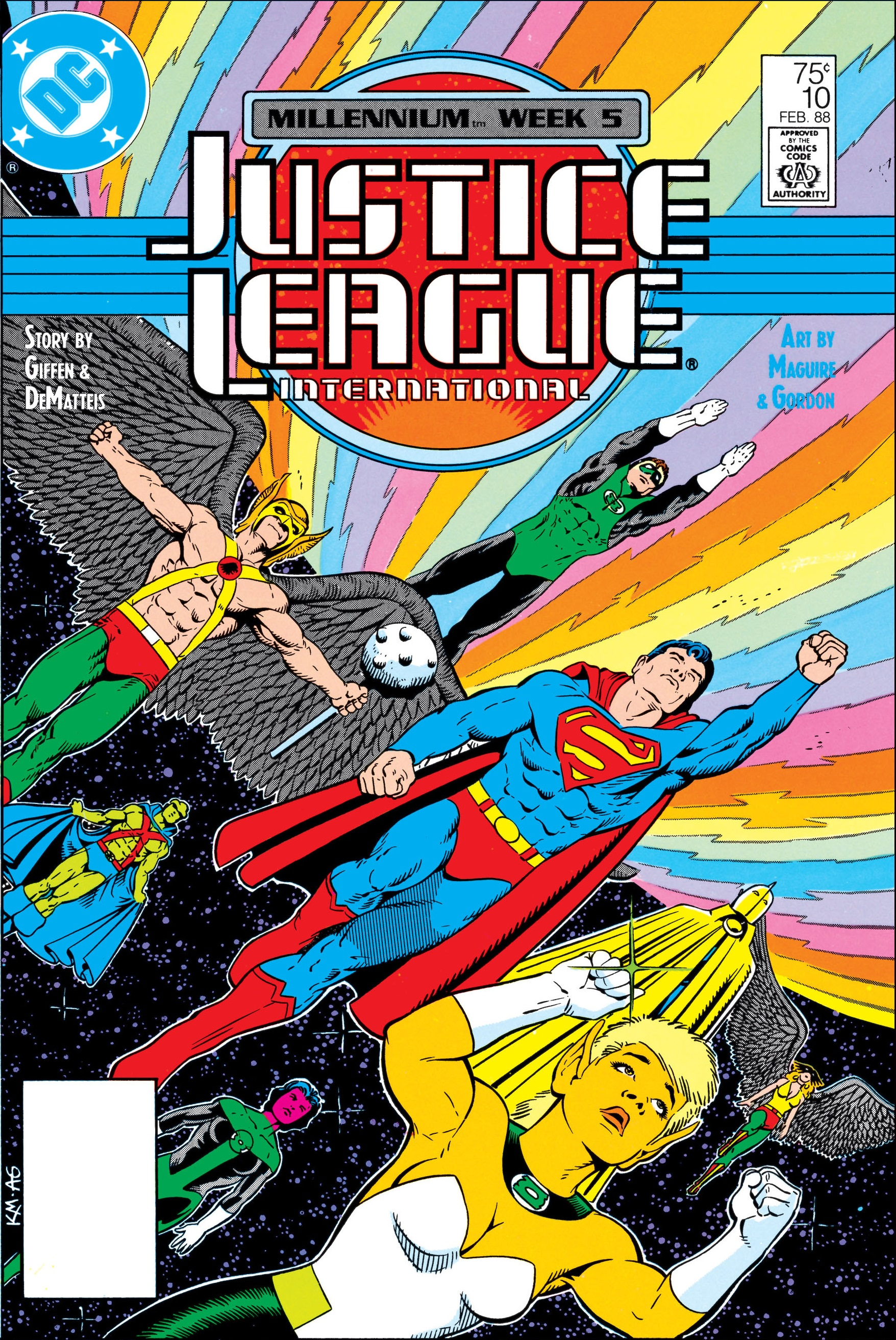 Justice League International Vol 1 10