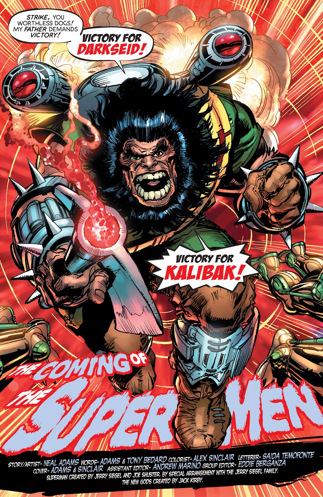 Kalibak (The Coming of the Supermen)
