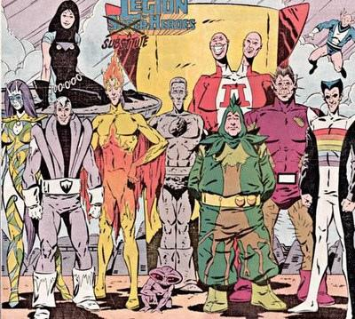 Legion of Substitute Heroes (Pre-Zero Hour)