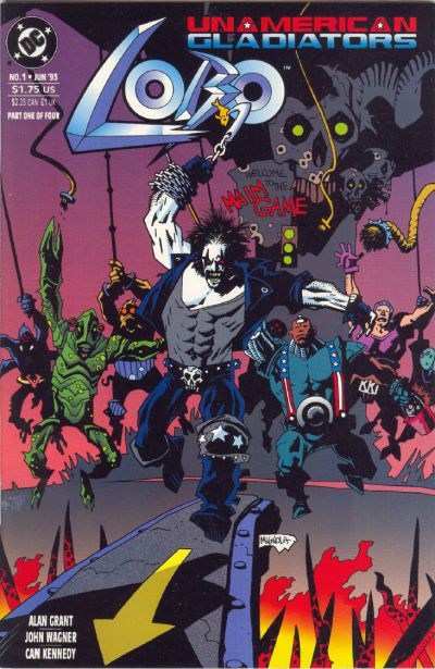 Lobo: Unamerican Gladiators Vol 1 1