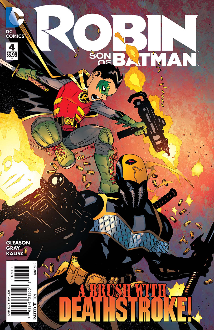 Robin: Son of Batman Vol 1 4