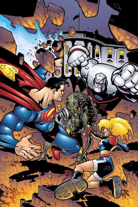 Superman Man of Steel Vol 1 110 Textless.jpg