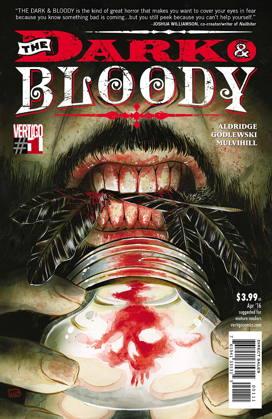 The Dark & Bloody Vol 1 1