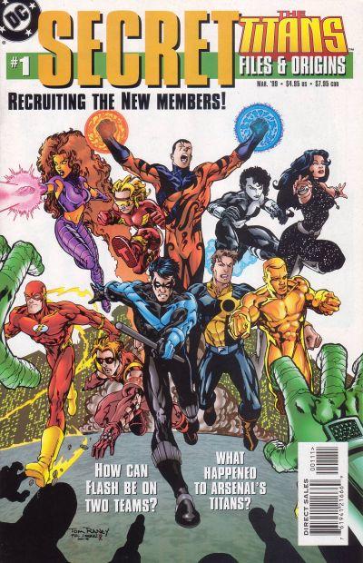 Titans Secret Files and Origins Vol 1